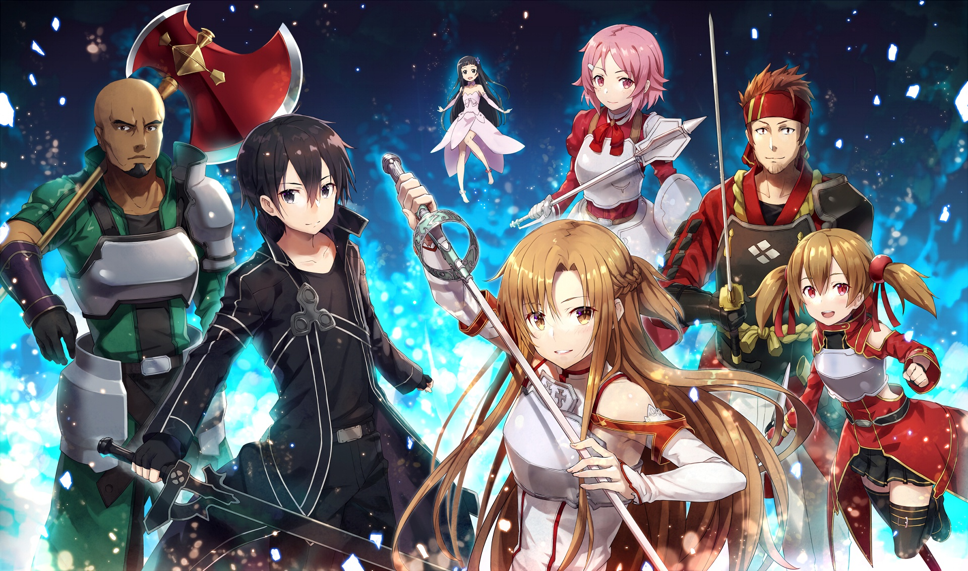 Персонажи sword ard online