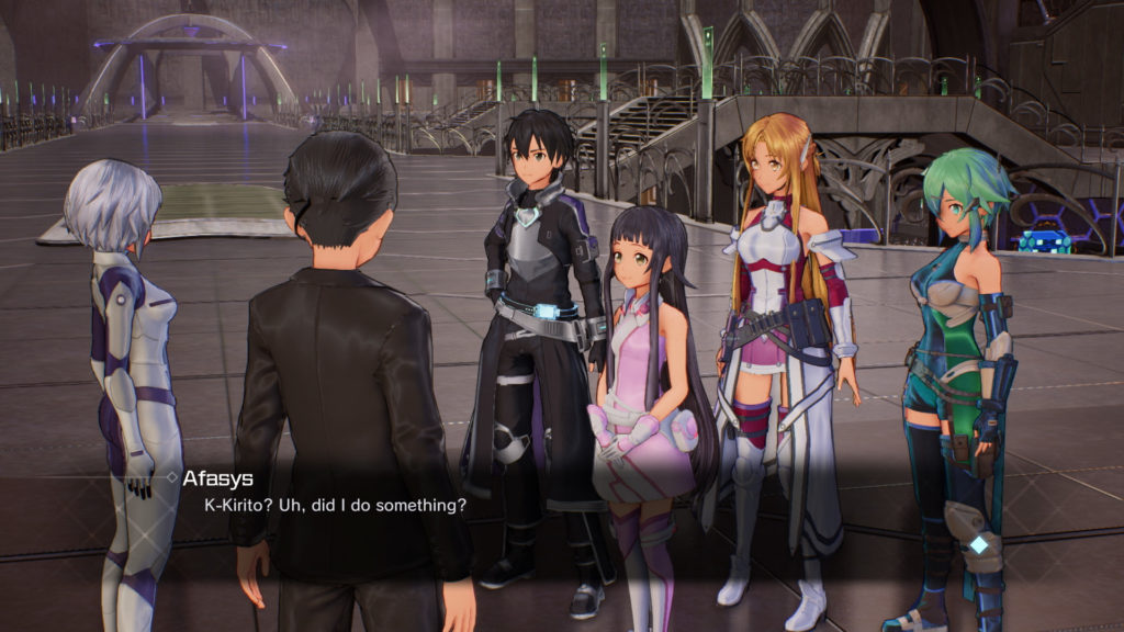 Accel World VS Sword Art Online скриншот 3