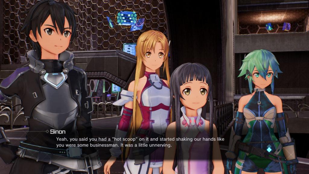 Accel World VS Sword Art Online скриншот 2