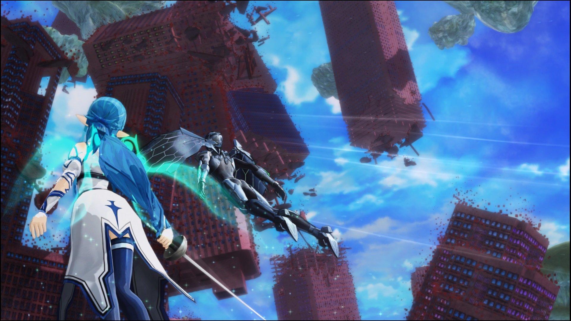 скриншоты к игре Accel World VS Sword Art Online - 6