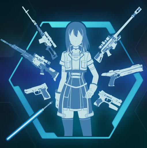 Accel World VS Sword Art Online разновидность оружия