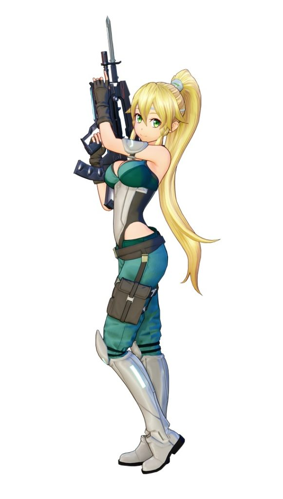 Персонажи Fatal Bullet лифа