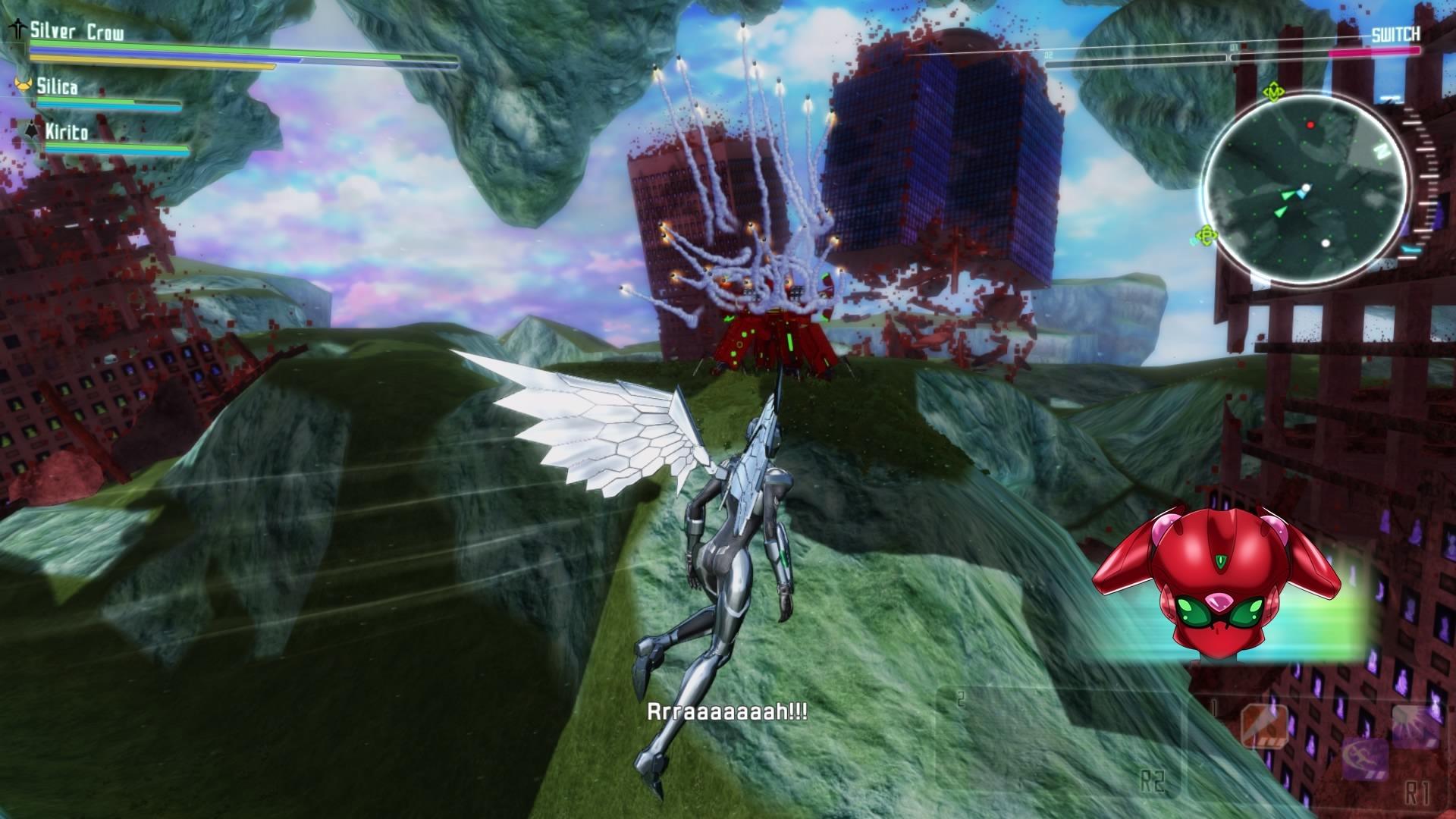 скриншоты к игре Accel World VS Sword Art Online - 5