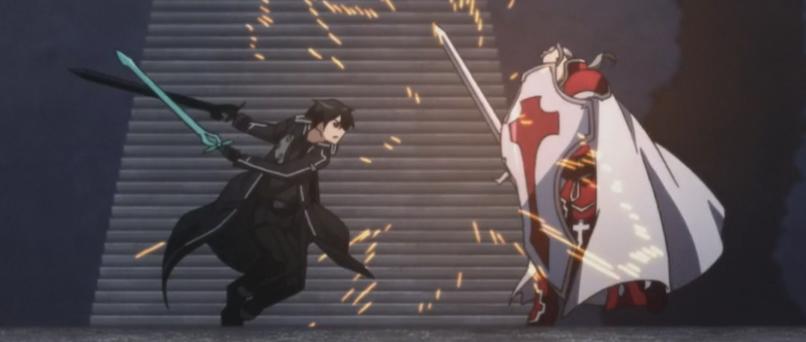 Хитклиф против Кирито последний бой