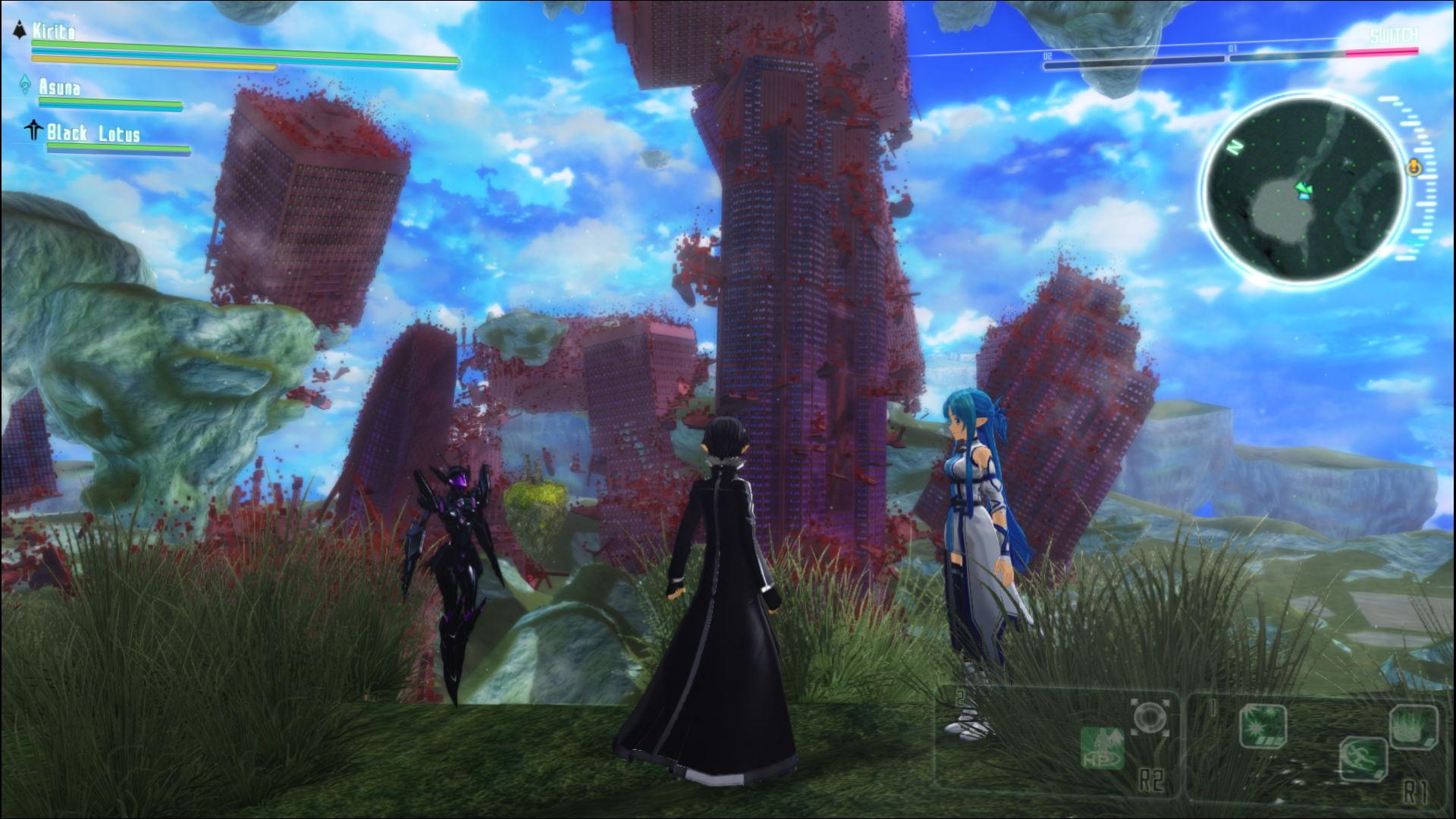 скриншоты к игре Accel World VS Sword Art Online - 3