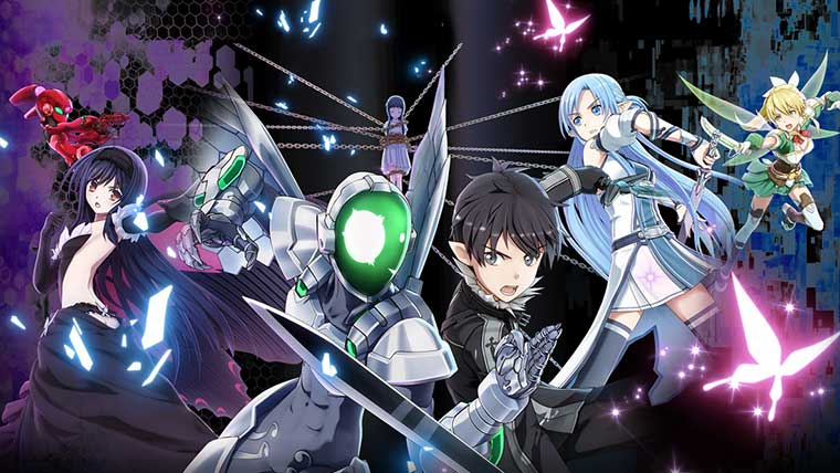 Accel World VS Sword Art Online персонажи