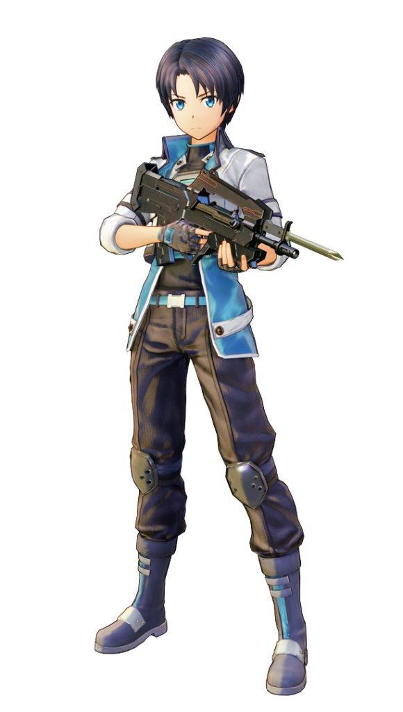 Персонажи Fatal Bullet кирито